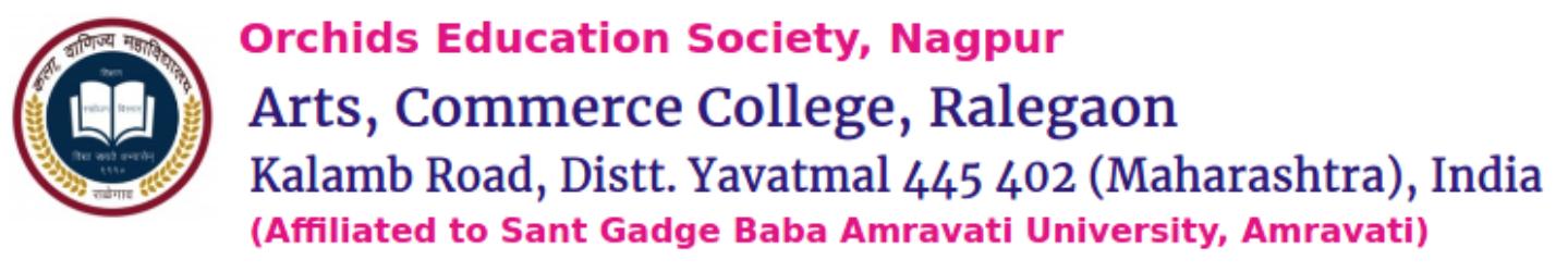 Arts, Commerce College, Ralegaon